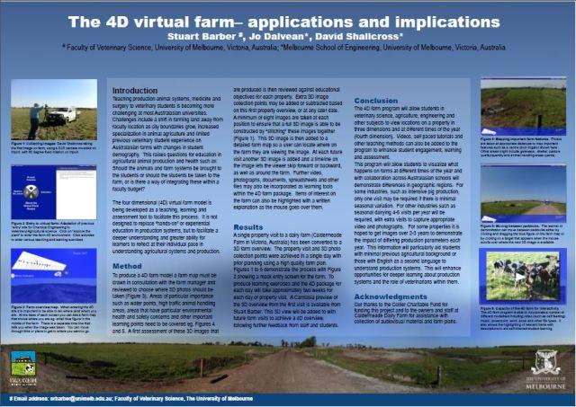 4D farm project poster